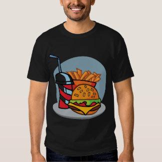 Burger Shirt Black