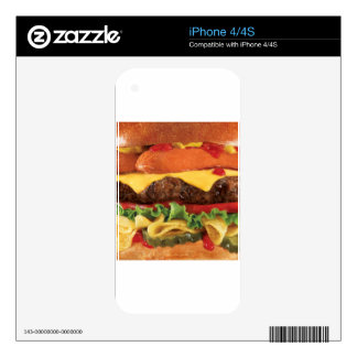 burger skin for iPhone 4S