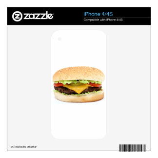 burger skin for the iPhone 4S