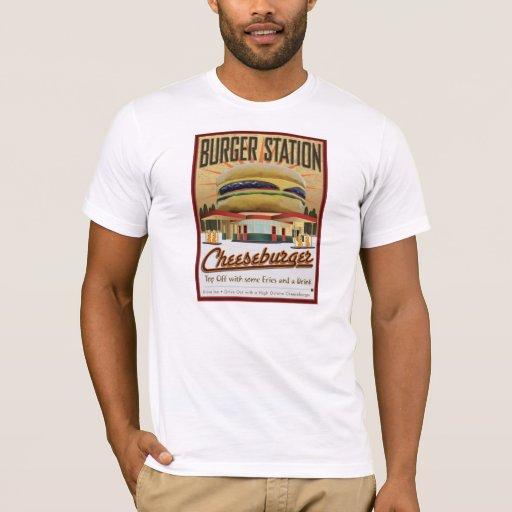 Burger Station-Shirt T-Shirt