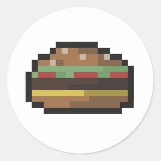 Burger Sticker