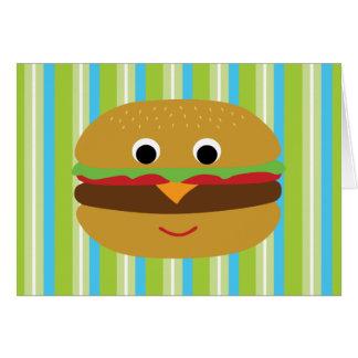 Burger Thank You Cards