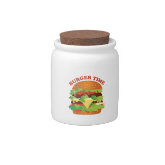 Burger Time Candy Jar