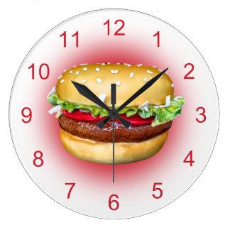 Burger Time Clock
