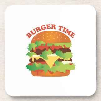 Burger Time Beverage Coaster