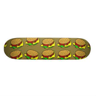 Burger Wallpaper Skateboard Deck