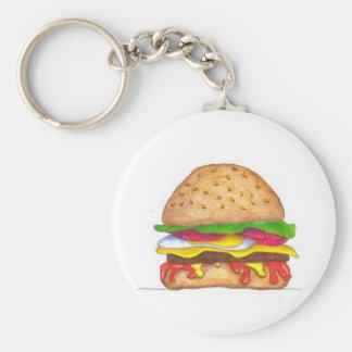 BurgerHotness Keychain