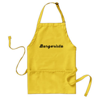 Burgerista Apron - Now in mustard! Apron