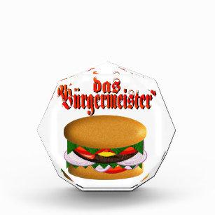 Burgermeister Acrylic Octagon Awards