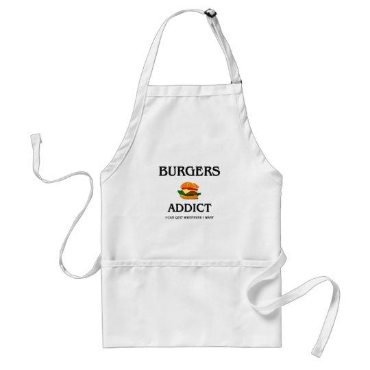 Burgers Addict Adult Apron