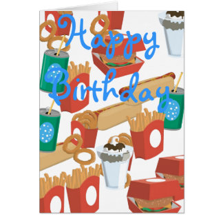 hotdog greeting cards  zazzle, Birthday card