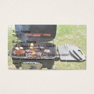 Burgers and hotdogs business card