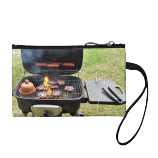 Burgers and hotdogs coin wallet