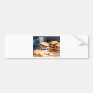 Burgers Bumper Sticker