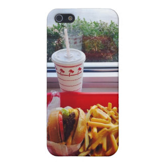 Burgers, Fries, and Drink. iPhone 5C Case. iPhone SE/5/5s Cover