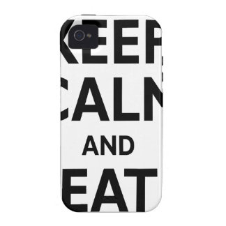 Burgers & FroYos iPhone 4 Cover