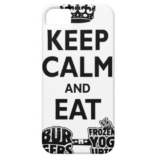 Burgers & FroYos iPhone 5 Cases