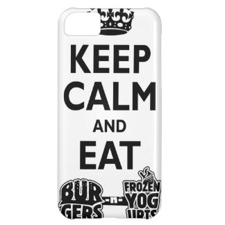 Burgers & FroYos iPhone 5C Cases
