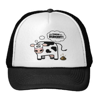 Burgers?! Funny Cow Hat