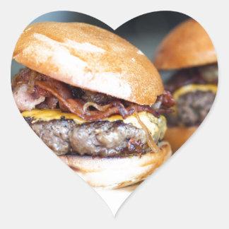 Burgers Heart Sticker