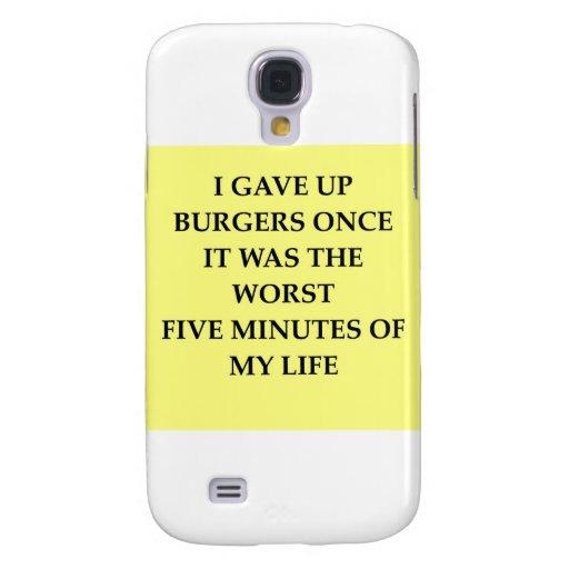BURGERS.jpg Funda Para Galaxy S4