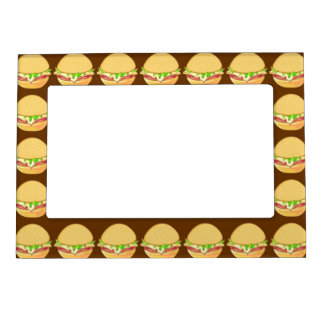 Burgers Magnetic Photo Frame