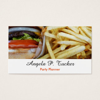 Burgers n Fries Business Card