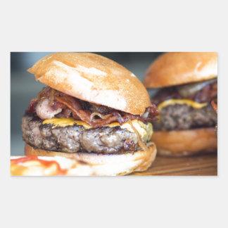 Burgers Rectangular Sticker