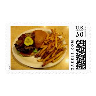 Burgers Rule! Postage
