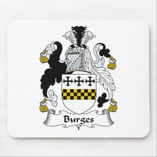 Burges Family Crest Mouse Mat