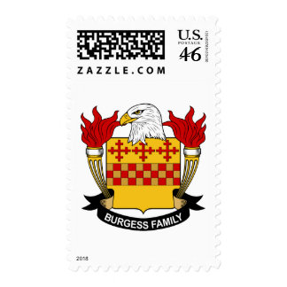 Burgess Family Crest Stamps