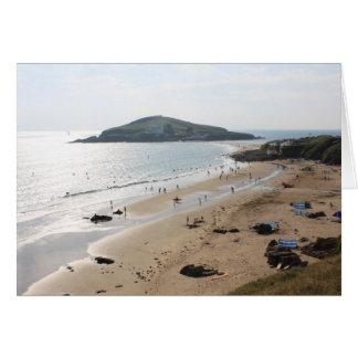 Burgh Island, Devon Greeting Card