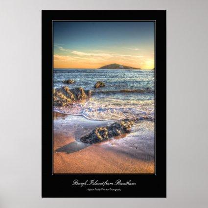 Burgh Island from Bantham at Sundown... Print