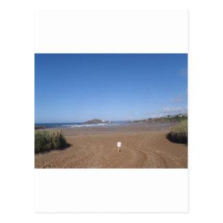 Burgh Island View From Bantham Beach Postcard