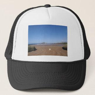 Burgh Island View From Bantham Beach Trucker Hat