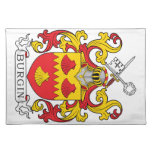 Burgin Family Crest Placemat