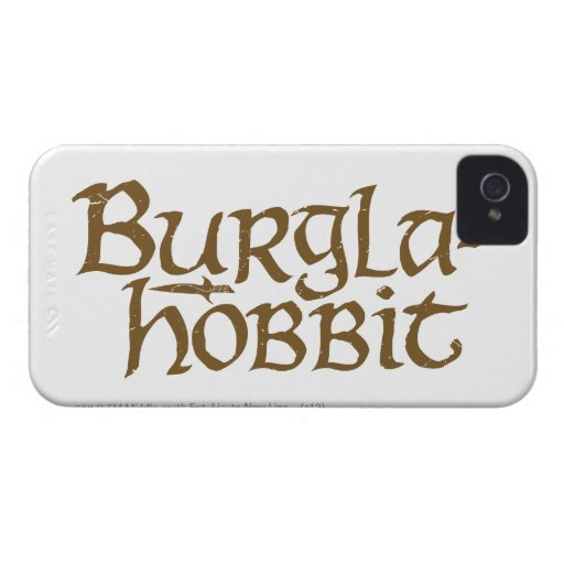 Burgla Hobbit iPhone 4 Carcasas