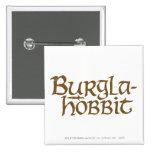 Burgla Hobbit Pinback Button
