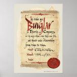 Burglar Contract Poster