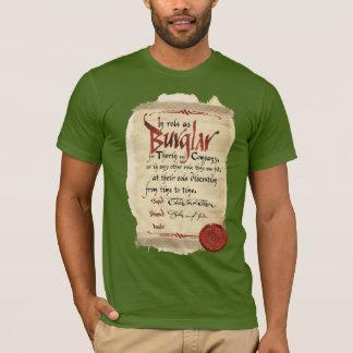 Burglar Contract T-Shirt