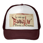 Burglar Contract Trucker Hat