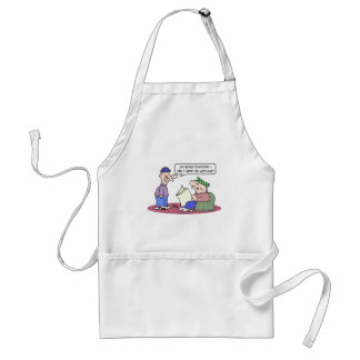 burglar downtown swipe anything you adult apron