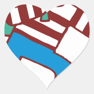Burglar Heart Sticker
