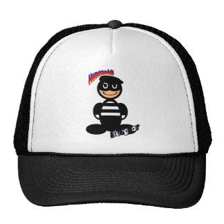 Burglar (with logos) trucker hat