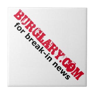 Burglary.com para las noticias de adaptación teja  ceramica