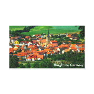 Burglauer, Germany Canvas Print