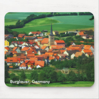 Burglauer, Germany Mouse Pad