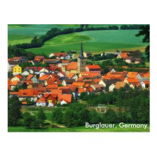 Burglauer, Germany Postcard