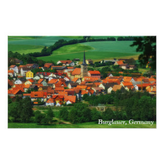 Burglauer, Germany Poster