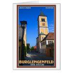 Burglengenfeld - Kirchengasse Greeting Cards